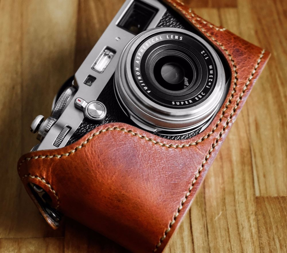 Arte Di Mano Ebay Details About Kenji Leather Half Case For Fujifilm Fuji X100f