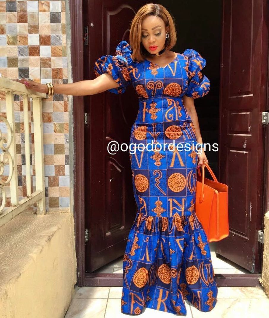 Robe Africaine: Pin By Onyinyechi Oji On OMALICHA STYLES