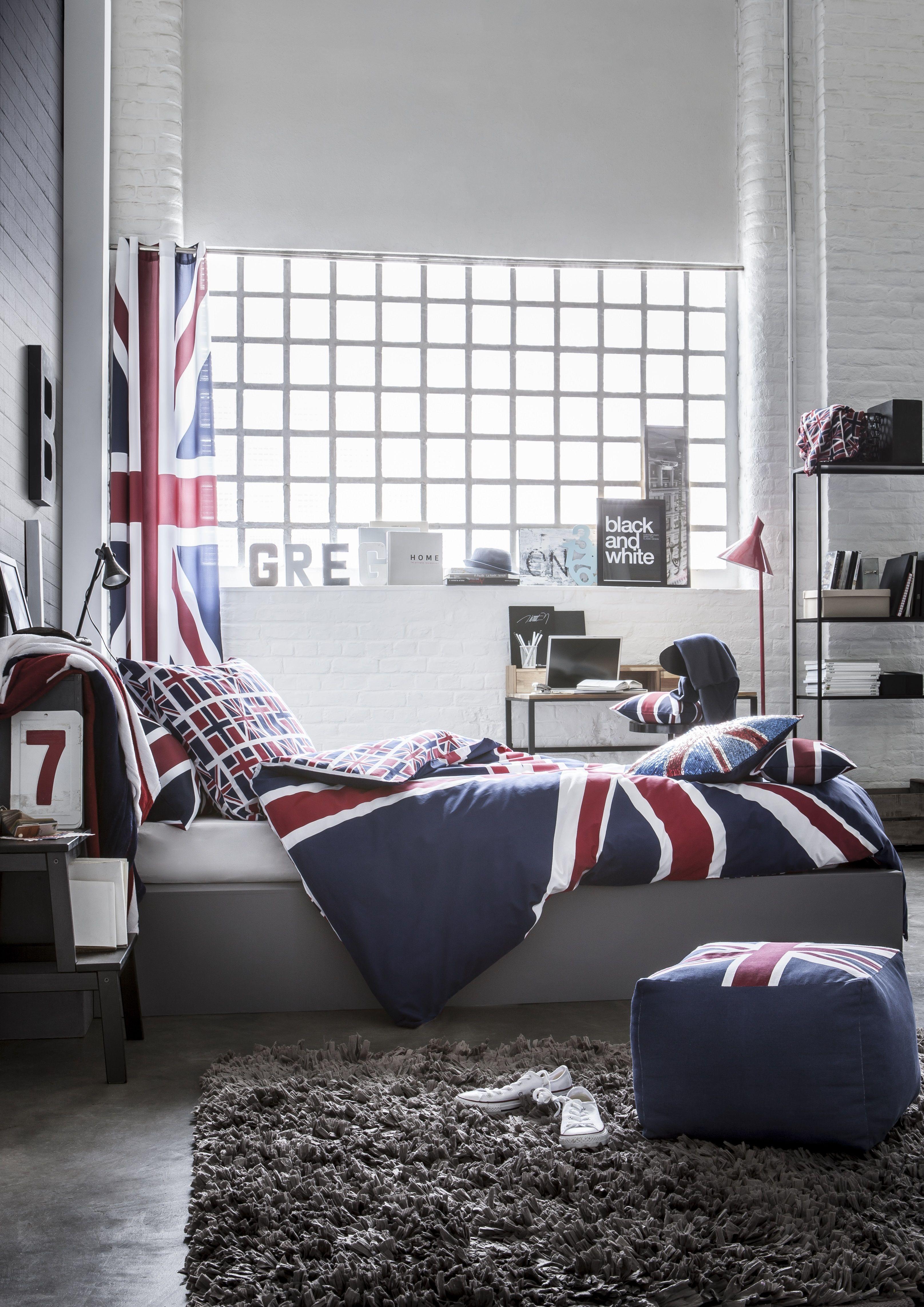 avec cette ligne tendance aux couleurs de l 39 angleterre optez pour une d co so british. Black Bedroom Furniture Sets. Home Design Ideas