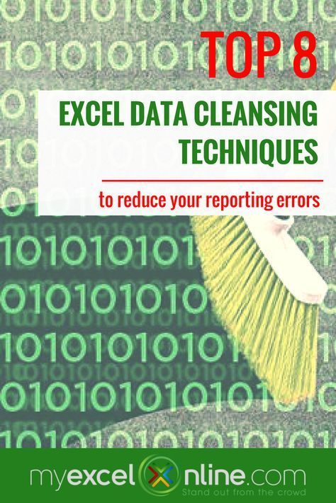 How to clean your Excel data that will reduce your reporting errors
