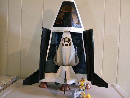 1989 GI Joe Crusader Space Shuttle