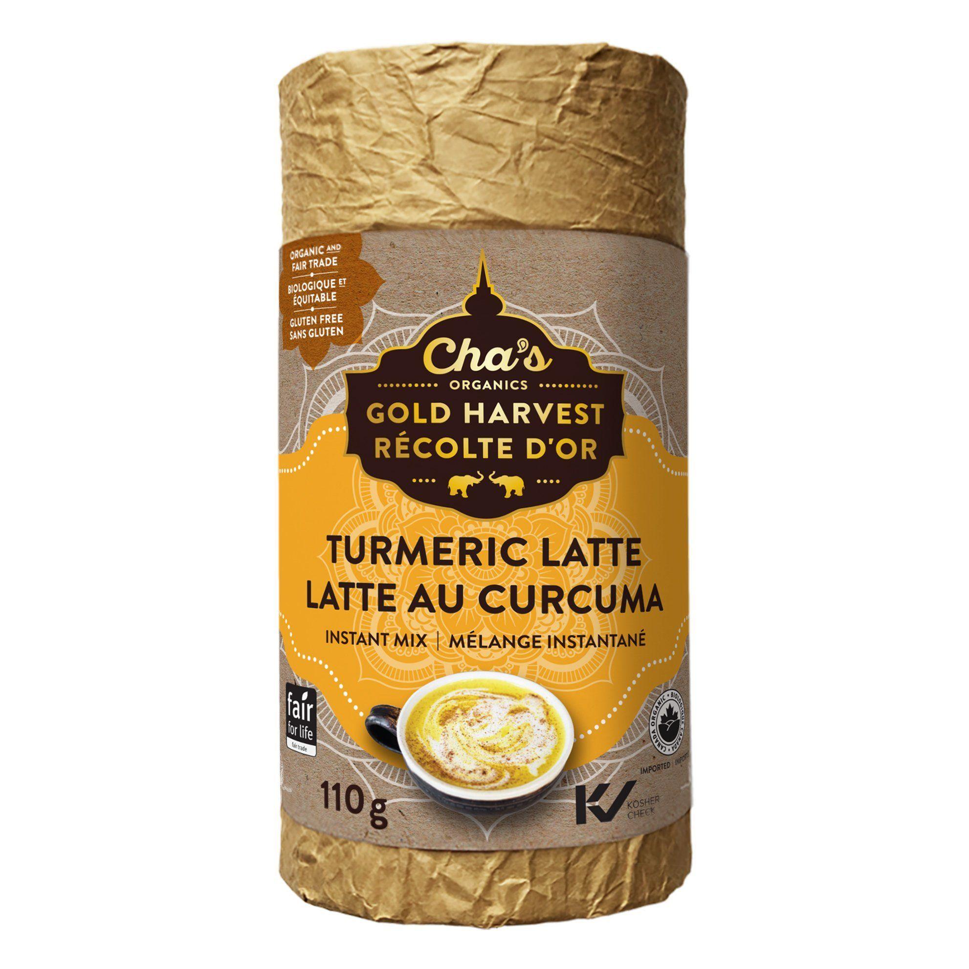Cha's Organics - Tumeric Latte Mix, 110g