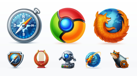 Web Browsers icons by Browser icon
