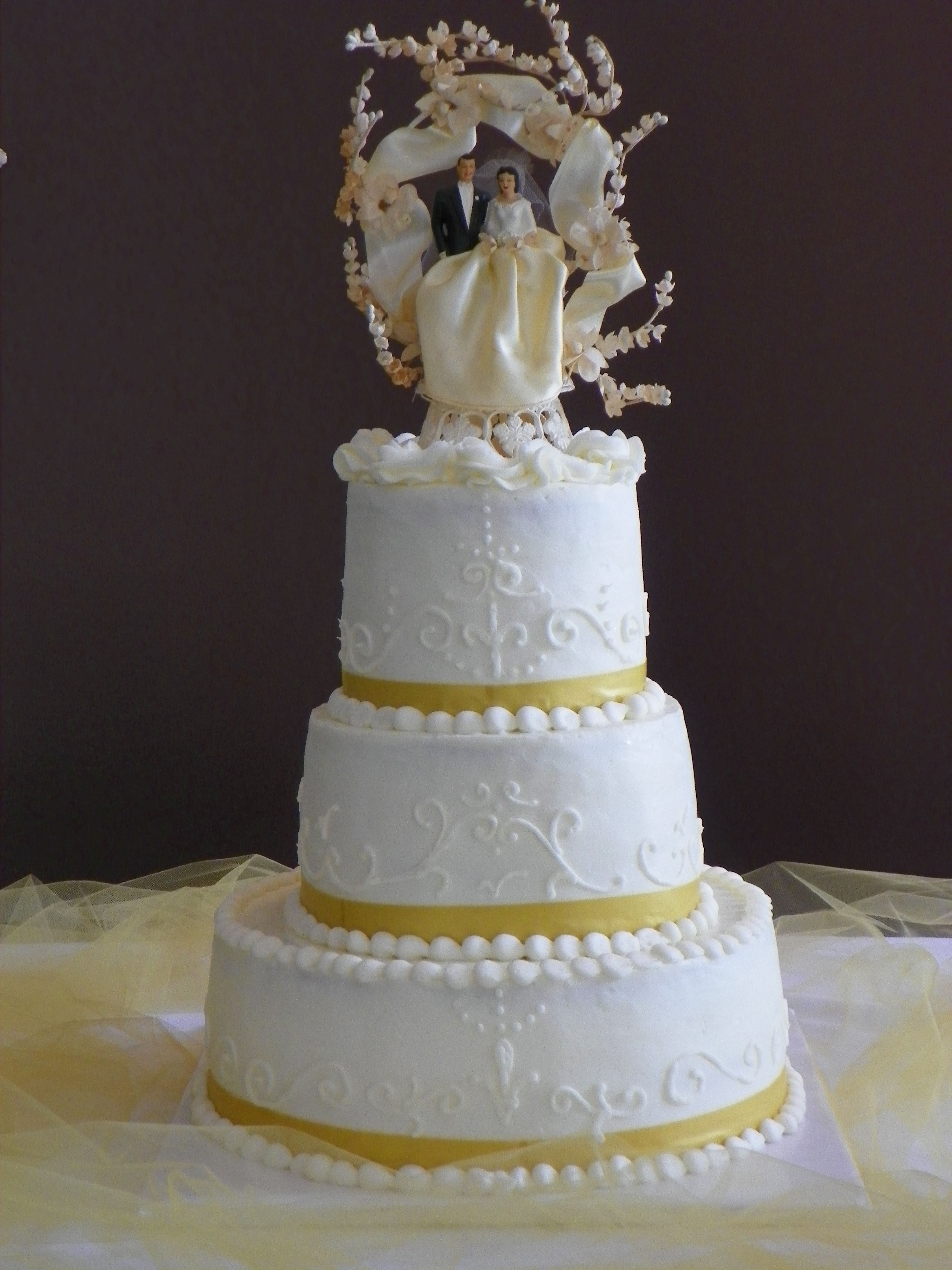 Th wedding anniversary cake parties pinterest