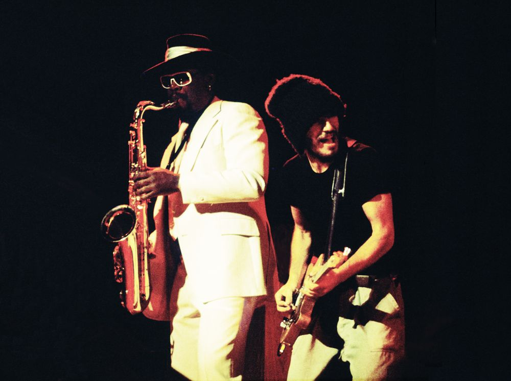 Clarence Clemons & Bruce Springsteen, Stockholm 1975 by Calvero