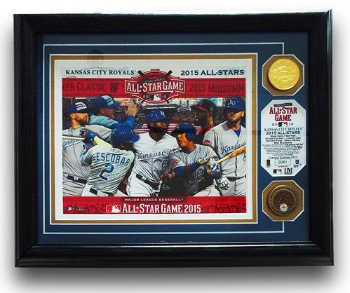 """Royals Authentics """"25 Days of Christmas Gift Ideas"""" Day 7. For our 7th day of '25 Days of Xmas Gift Ideas"""" suggestions we've chosen a frame honoring our 7 All-Stars."""
