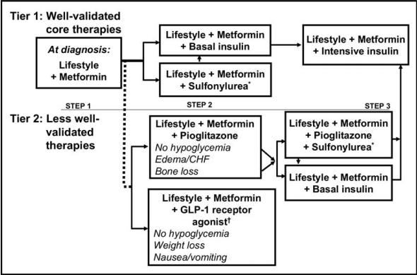 Prediabetes treatment medication