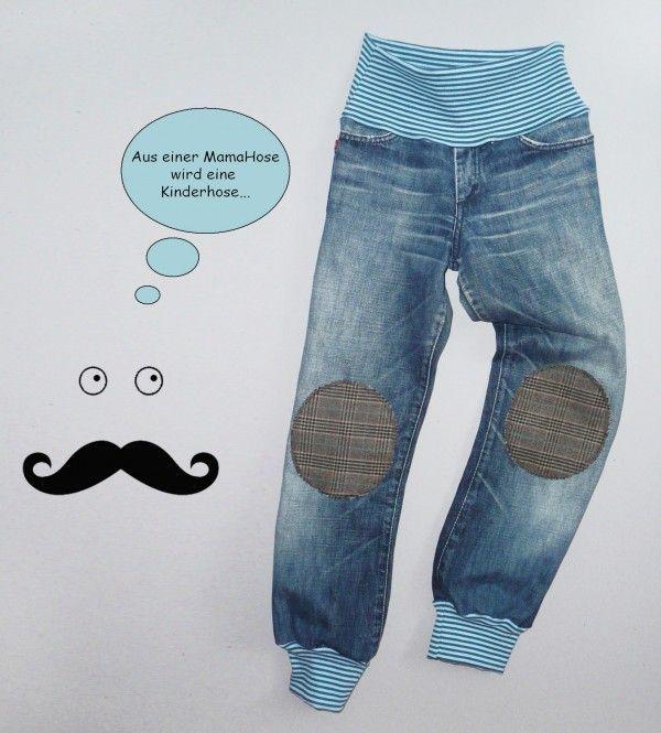 Nähen Sie Kinderhosen aus alten Hosen   – Sewing kids clothes – #alten #aus #cl…