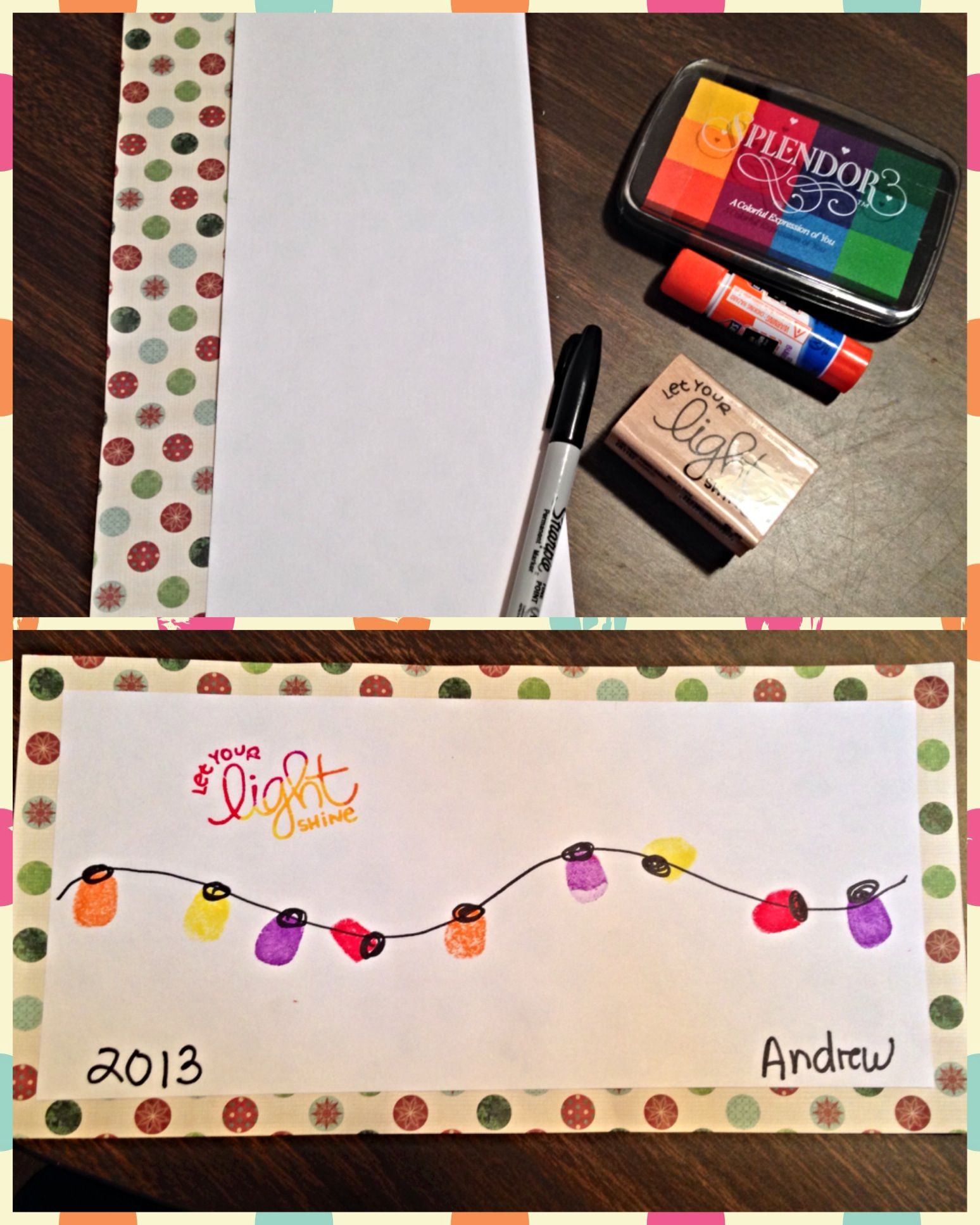 Multi color cardstock paper - Materials Needed Sharpie Multi Colored