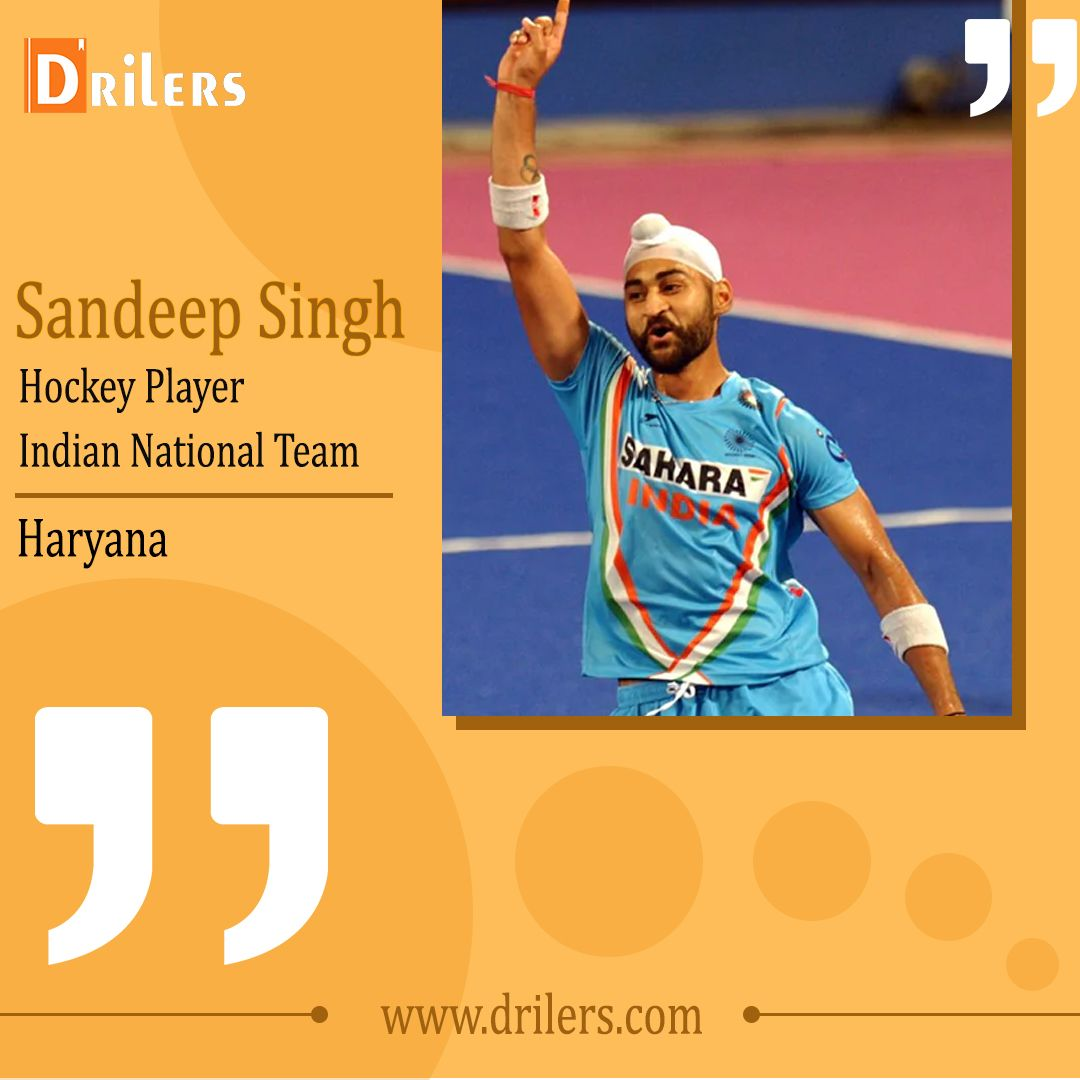 Though Giving Up Was The Last Resort For Sandeep Singh Commonly Known As The Best Drag Flicker This Fearless Hockey Player Retu With Images Hockey Players Hockey Players