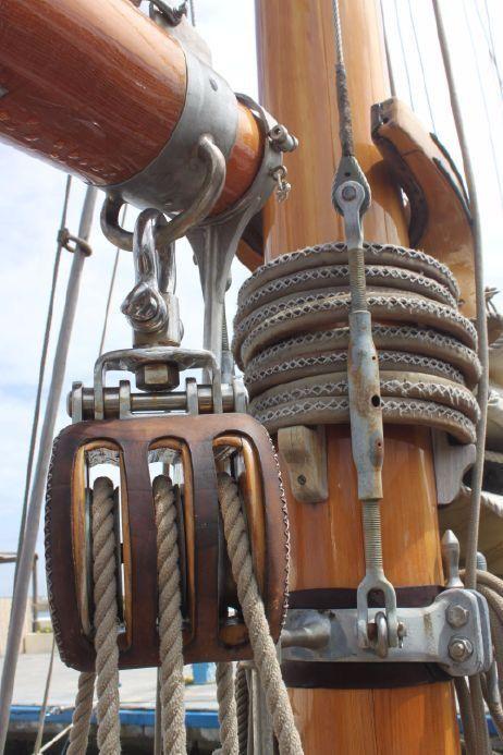 Triple | Block 'n Tackle | Sailing ships, Sailing, Model sailing ships