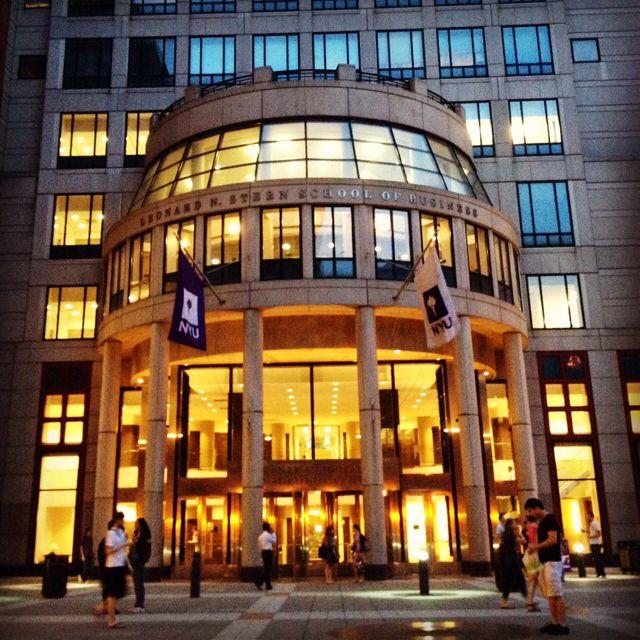 000 NYU Stern School of Business Favorite Places & Spaces