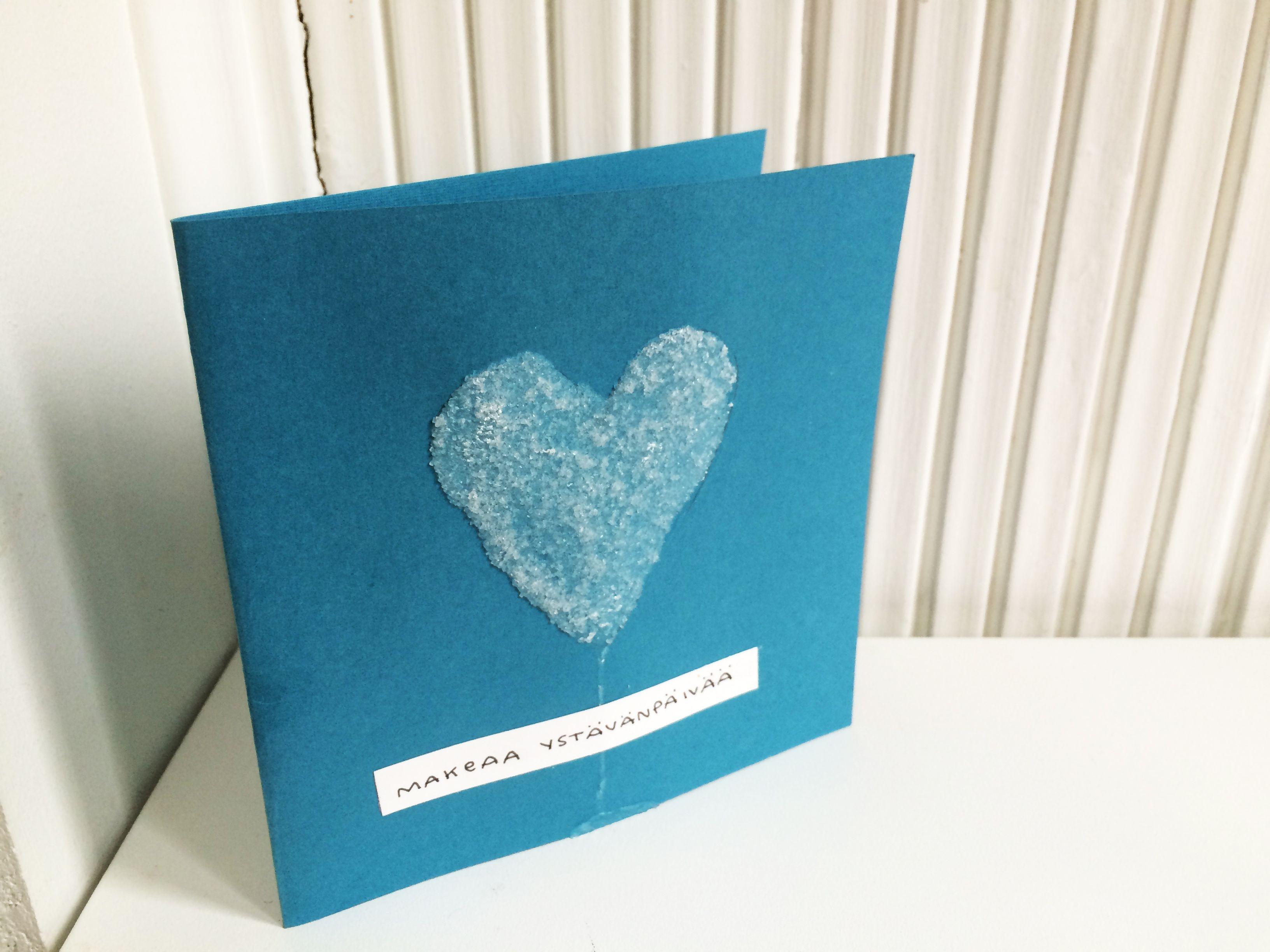 ystävänpäiväkortti | sydän lapset | lasten | askartelu | käsityö | kädentaidot | koti | yhdessä tekeminen | koko | perhe | miten | tehdään | Valentine's Day card | heart  | DIY ideas | kid crafts | home | family | cards | tv show | how to make | Pikku Kakkonen | http://yle.fi/lapset