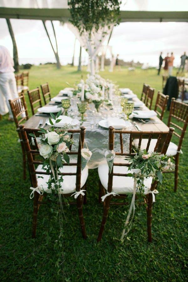 Stylish Hawaiian Wedding At White Orchid Beach House Wedding
