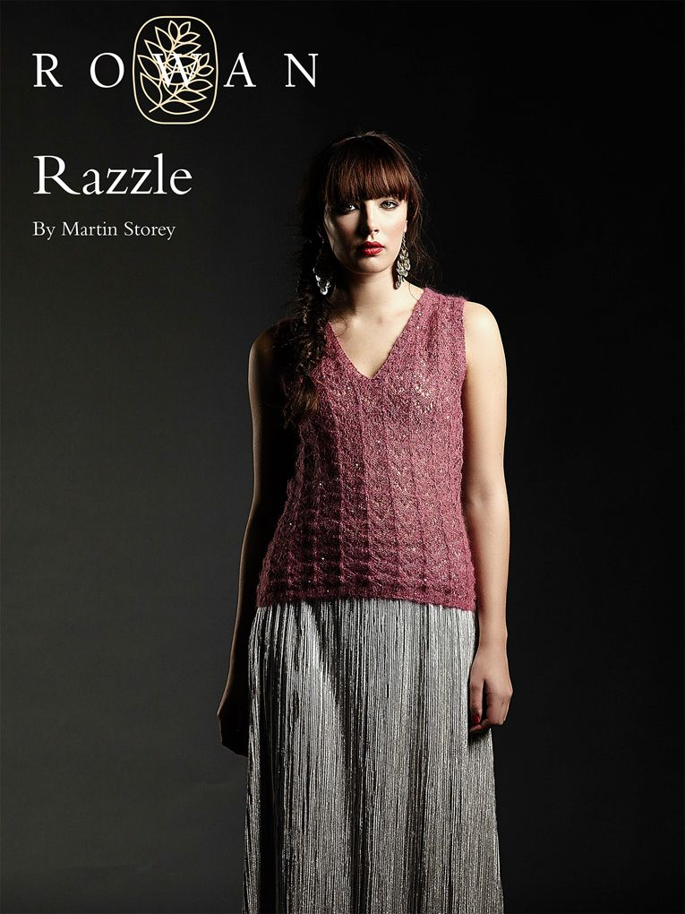 Free Knit Pattern Razzle Tank Top Knitted Top Patterns Pinterest