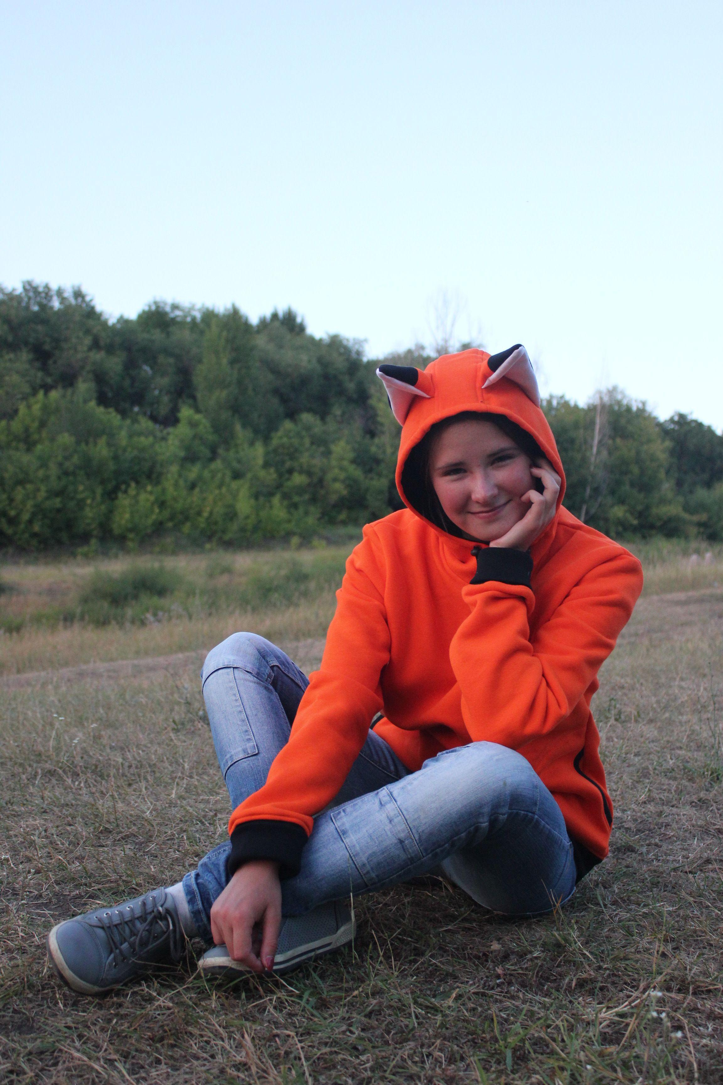 582e0c4a Зверошмотка, толстовка, лиса, ушки, толстовка с ушками, hoodie, fox ear
