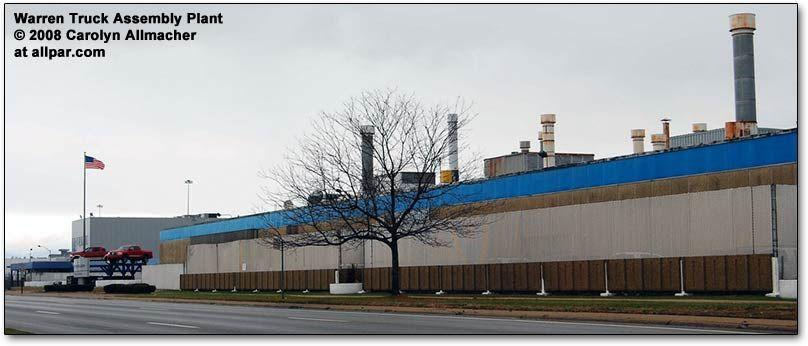 Warren Truck Assembly Plant (Dodge Ram and Dakota)   Dodge ...