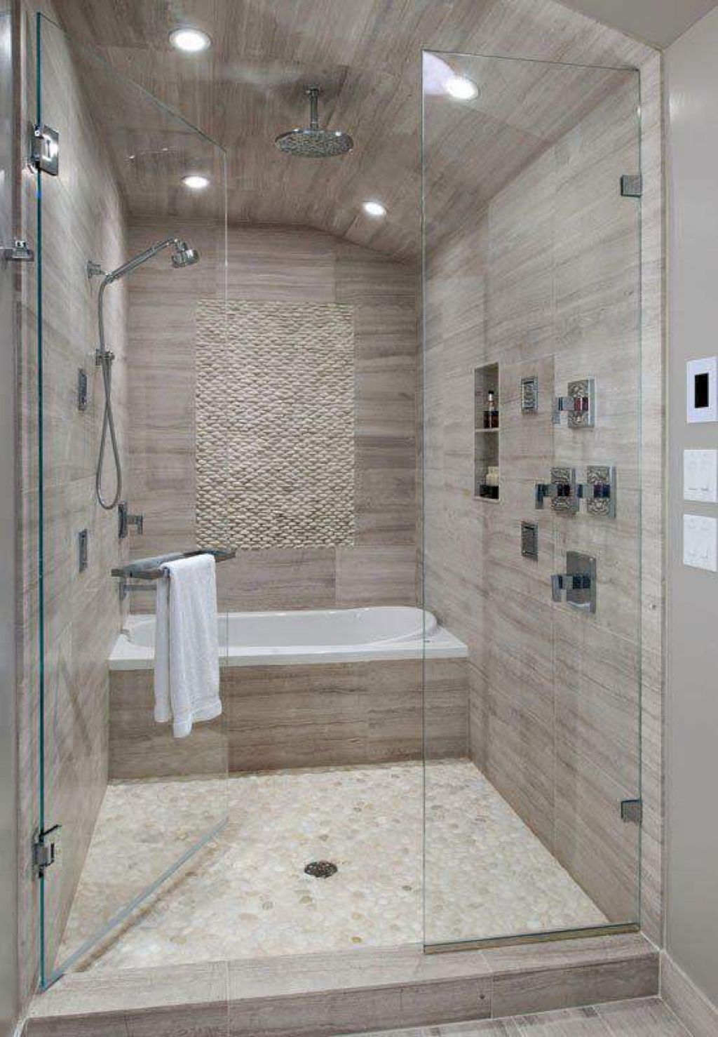 Awesome Master Bathroom Ideas 24 With Images Bathroom Remodel Master Bathroom Remodel Shower Bathrooms Remodel