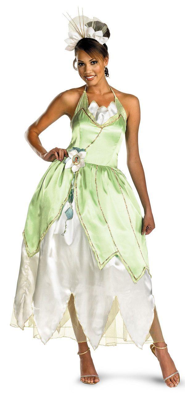 Resultado De Imagen De Diy Princess Tiana Costume For Adults Tiana Costume Princess Tiana Costume Princess Costumes