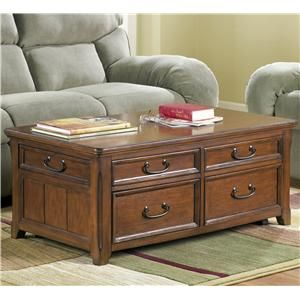 Signature Design By Ashley Woodboro Rectangular Lift Top Cocktail Table    Pilgrim Furniture City   · Lift Top Coffee TableTrunk ...