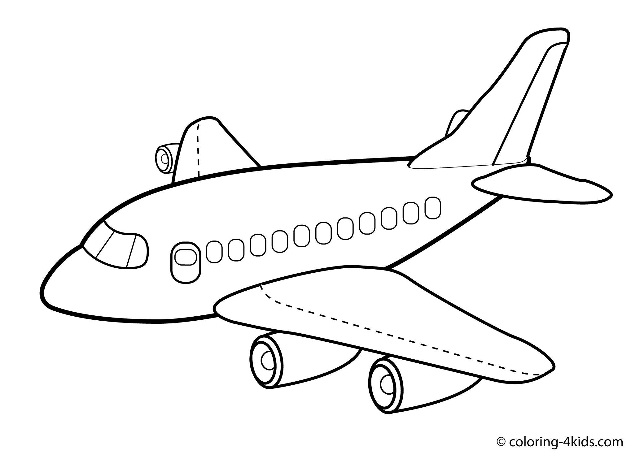 Malvorlagen Planes in 8  Flugzeug zeichnung, Kostenlose