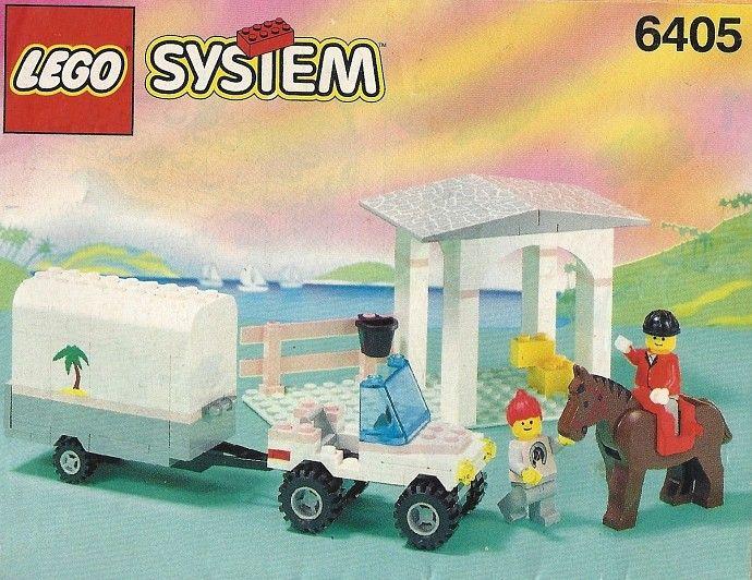 6405 Sunset Stables Lego Girls Vintage Lego Lego