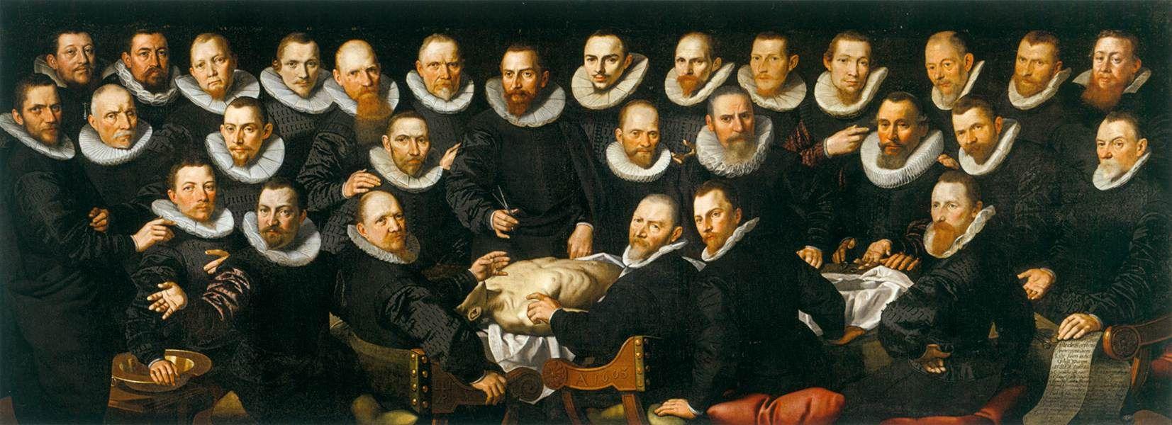 La lección de anatomía del doctor Sebastian Egbertsz | El doctor ...