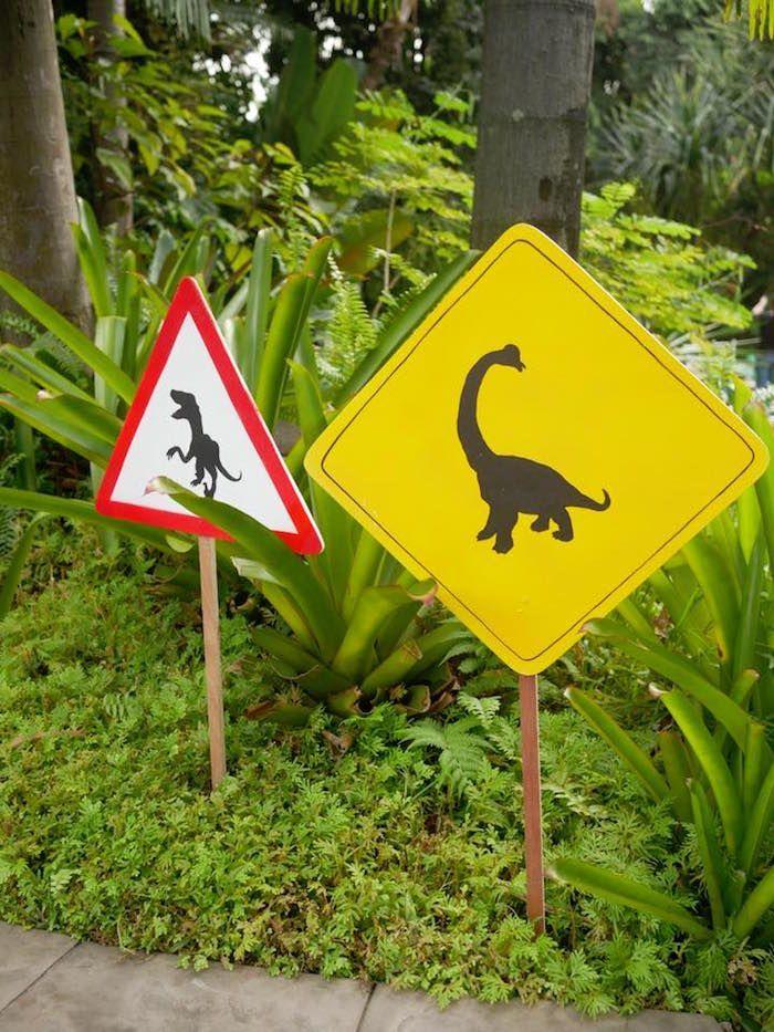 Roaring Dinosaur Birthday Party | Kara's Party Ideas