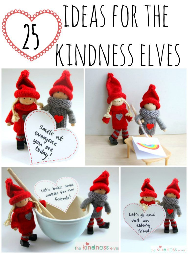 25 Ideas For Using The Kindness Elves With Kids Kindness Elves Christmas Elf Preschool Christmas