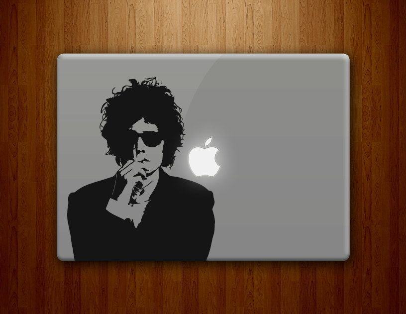 Bob dylan macbook decals mac decal macbook pro decal macbook air decals ipad iphone 1 2