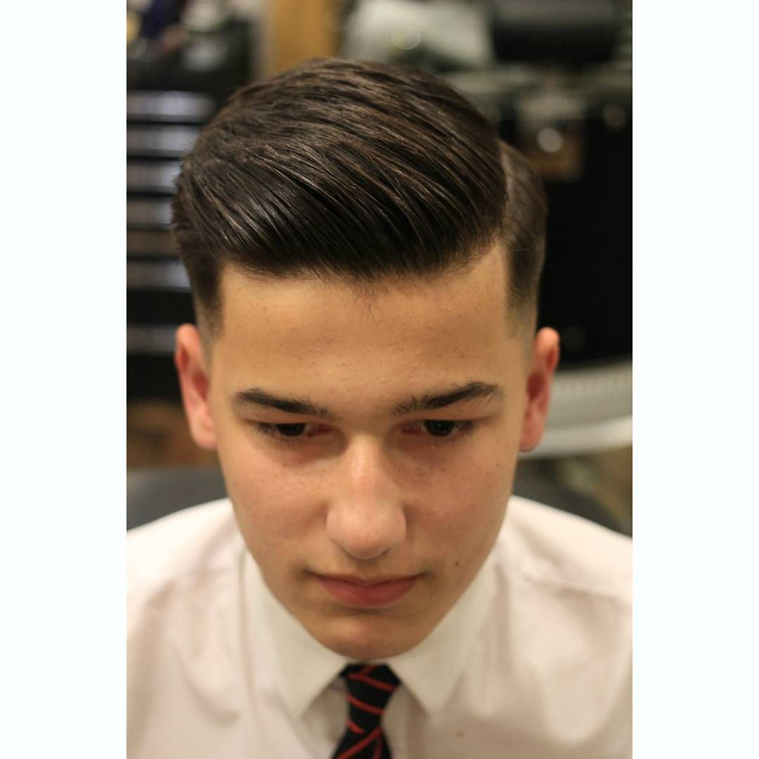 Round On The Top With Short Sides School College Hairstyles For School Student