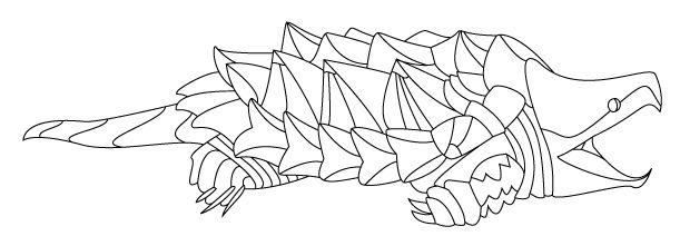 snapping turtle coloring pages alligator snapping turtle everyone likes him because his little