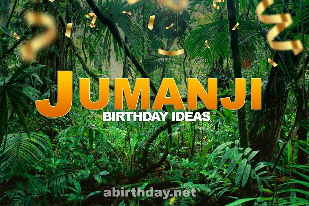 We Are All Familiar With The Jumanji Movie And How Great It Is We Are Also Familiar With How Popular Is Jum In 2020 Jungle Birthday Party Wild Birthday Party Birthday