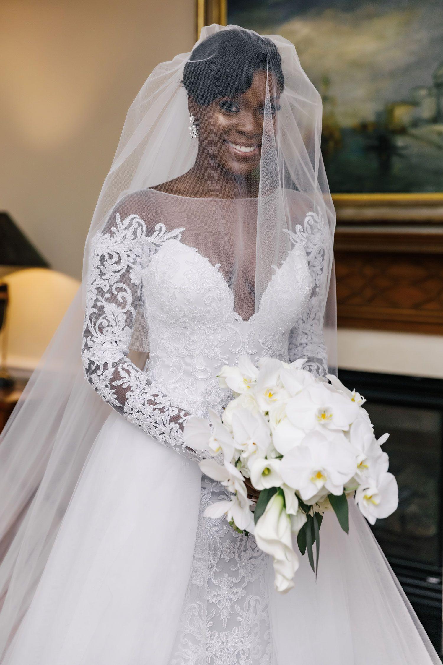 Modern, Elegant Wedding with Warm & Inviting White + Gold
