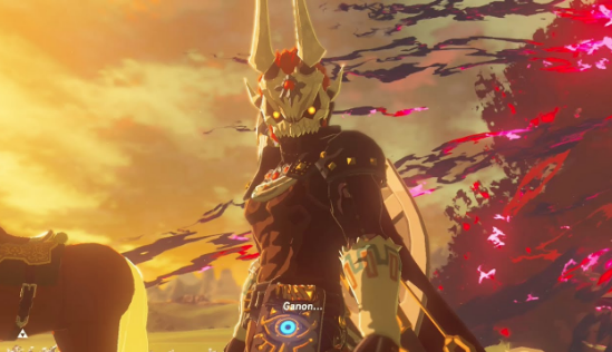 Phantom Ganon Calamity Screenshot Legend Of Zelda Zelda
