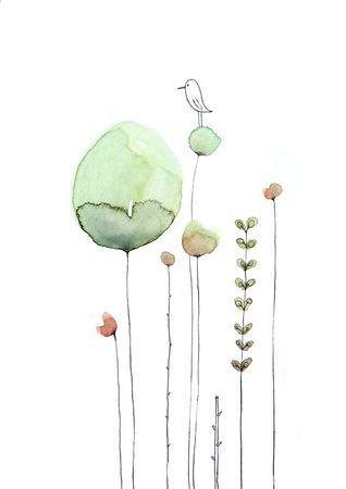 Cecile Hudrisier Peintures A L Aquarelle Faciles Art De La Couleur Inspiration Art