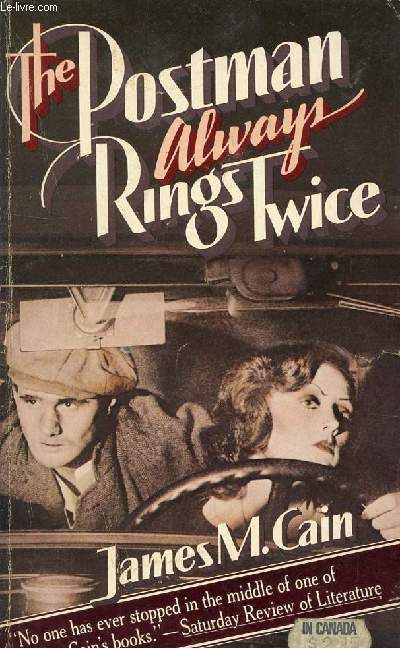 James M. Cain   The Postman Always Rings Twice