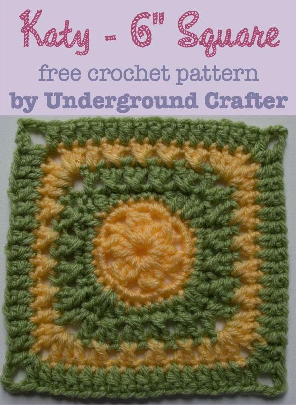 Crochet Pattern: Katy 6\