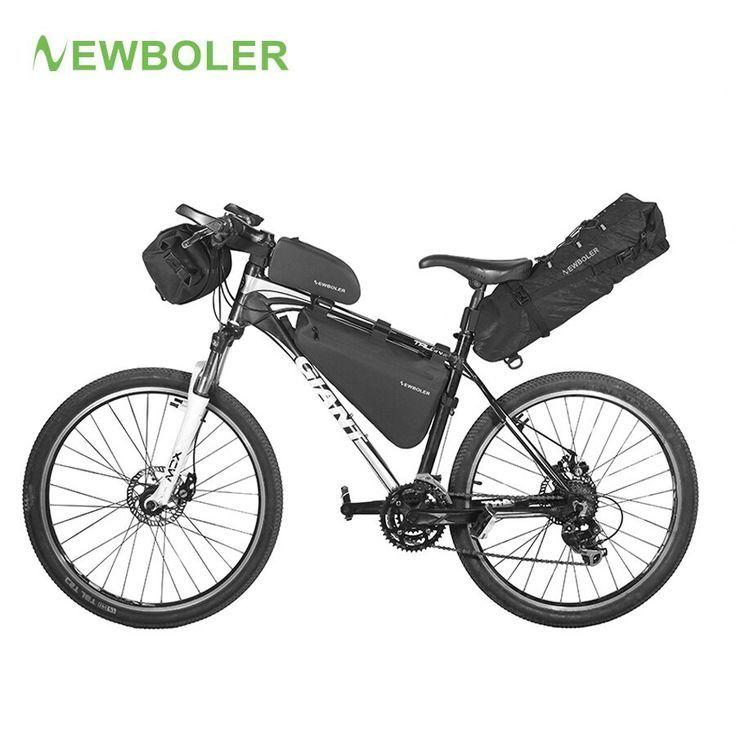 Newboler Fahrradtasche Wasserdichte Fahrradtourenkoffer