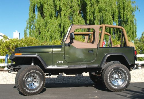Jeep Wrangler Yj Technical Details History Photos On Better