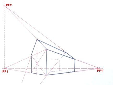 CENTRE PERSPECTIF Cu0027est Le Centre De La Surface Représentée En Perspective,  (ci Dessous Le Centre Du Carré Base De La Pyramide).