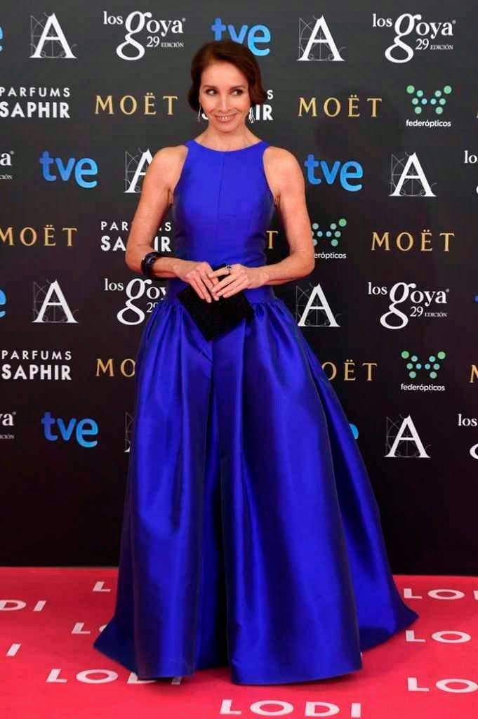 Ana Belen de Tot-Hom Premios Goya 2015 Alfombra Roja | Red Carpet ...