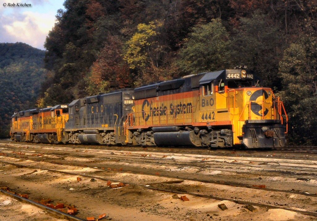 Chessie System With Images Railroad Photography Train