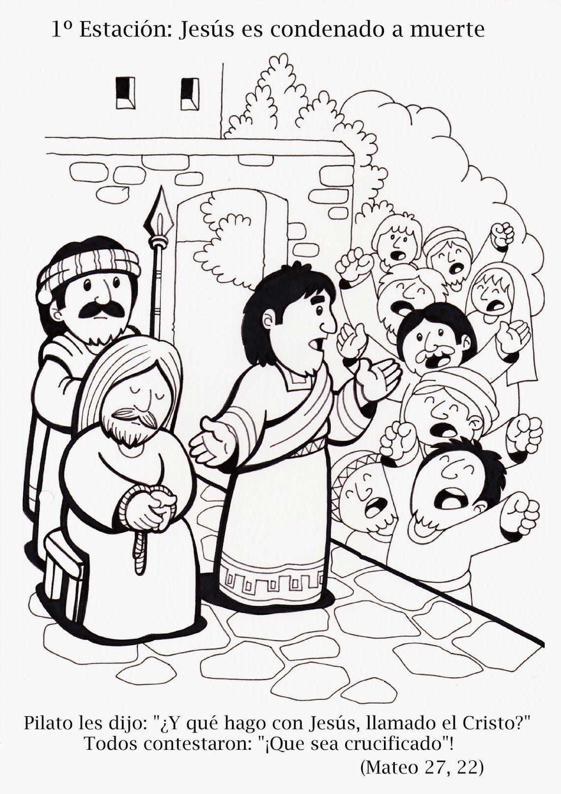 MATERIALES DE RELIGIÓN CATÓLICA | Dibujos para colorear en ...