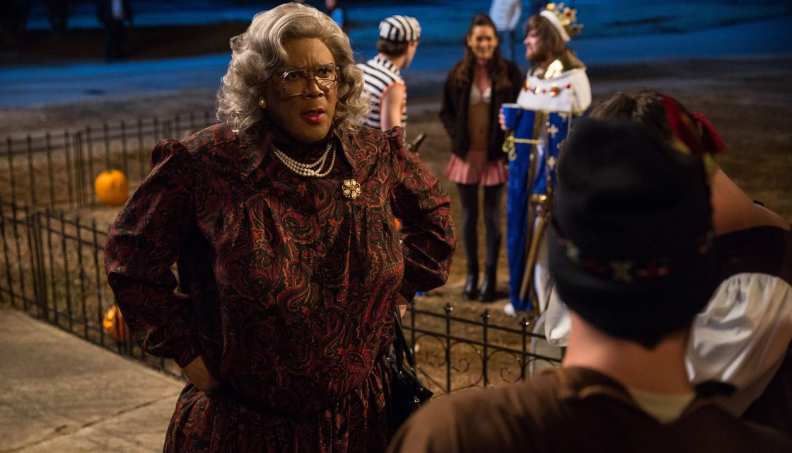 """LOS ANGELES (AP) — Tyler Perry bested Tom Cruise at the box office this weekend. Perry's """"Boo! A Madea Halloween"""" opened in the top spot with an estimated $27.6 million, edging Cr…"""