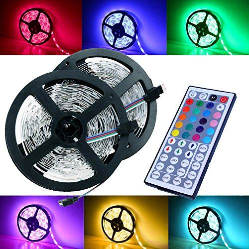 Magic Beam Led Strip Lighting Full Kit 10meter 328 Ft 5050 Rgb 300 Leds Flexible Color Changing Led Ligh Led Strip Lighting Led Light Strips Color Changing Led