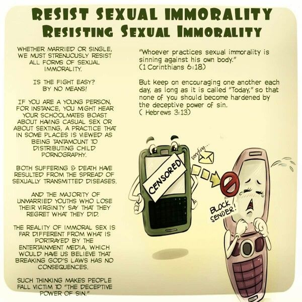 What sexual immorality means