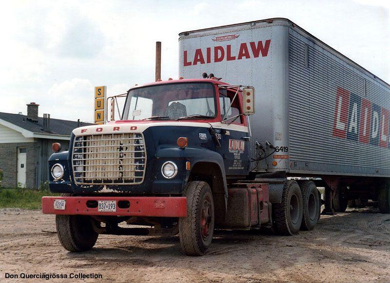 Laidaw ford taken in windsor ontario in 1976 trucks