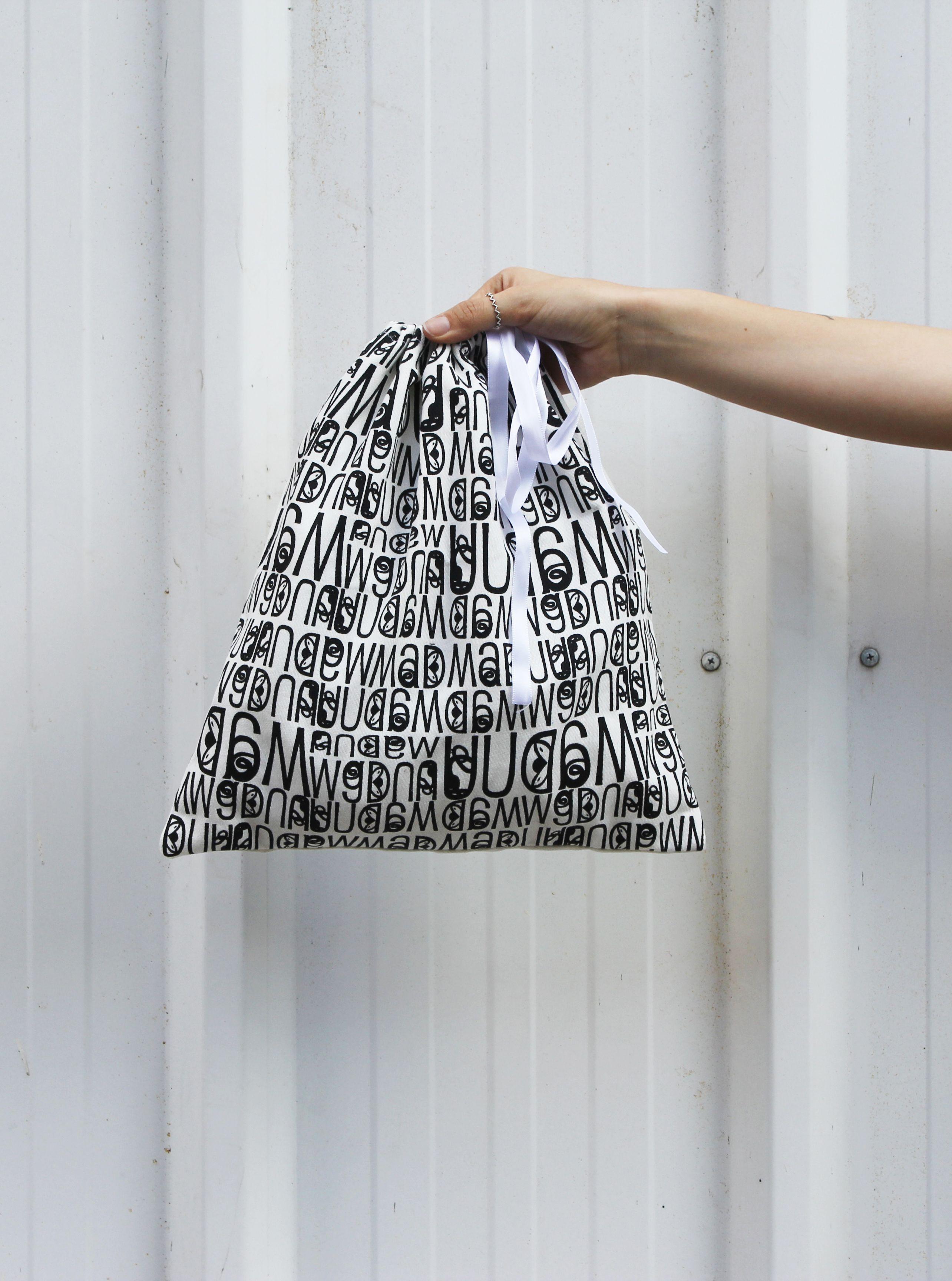 Embalagem reutilizável em tecido para bolsa vegan Maduu