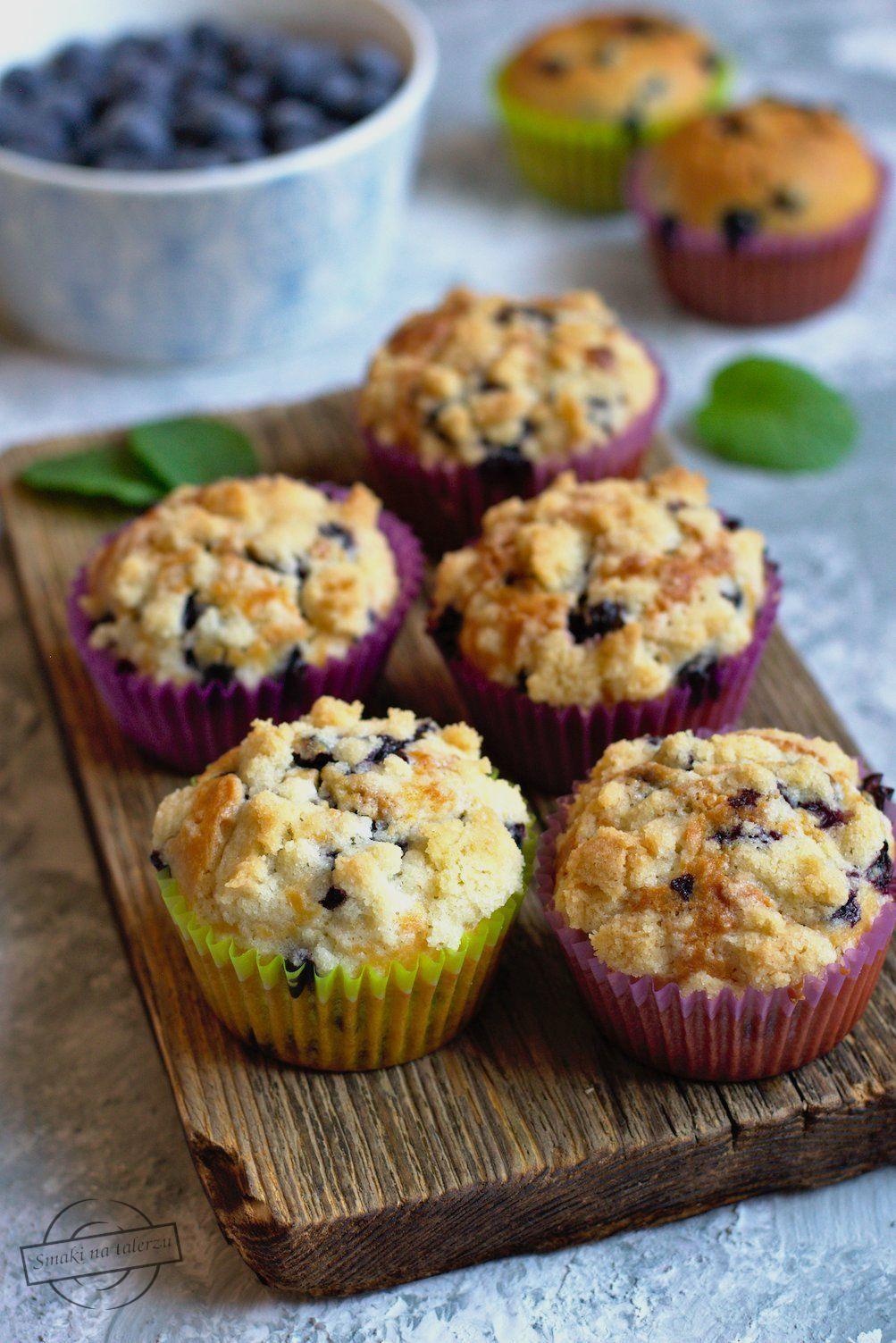 Moje Wypieki Muffinki Z Borowka Amerykanska I Lukrem Cytrynowym Food Delicious Paleo Recipes